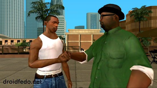 GTA San Andreas APK + OBB Free Download 1 08 For Android